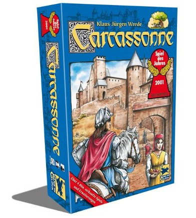 Carcassonne game box