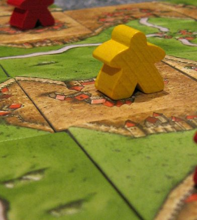 Carcassonne middle game
