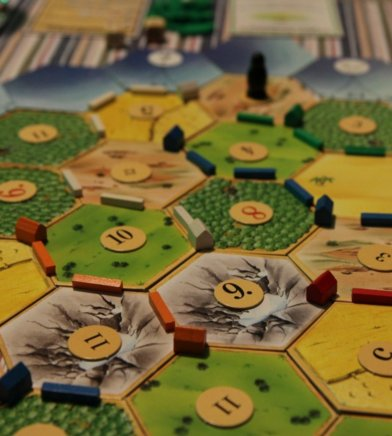 Catan middle game