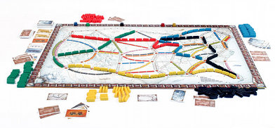 Ticket to ride board